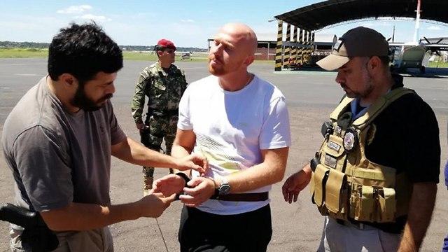 סוחר סמים ישראלי נעצר בברזיל ()