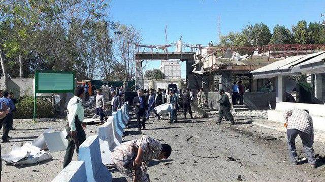 איראן: 3 הרוגים בפיגוע התאבדות בתחנת משטרה 89268970980100640360no