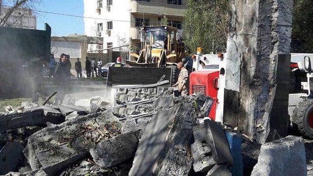 איראן: 3 הרוגים בפיגוע התאבדות בתחנת משטרה 89268990990100640360no