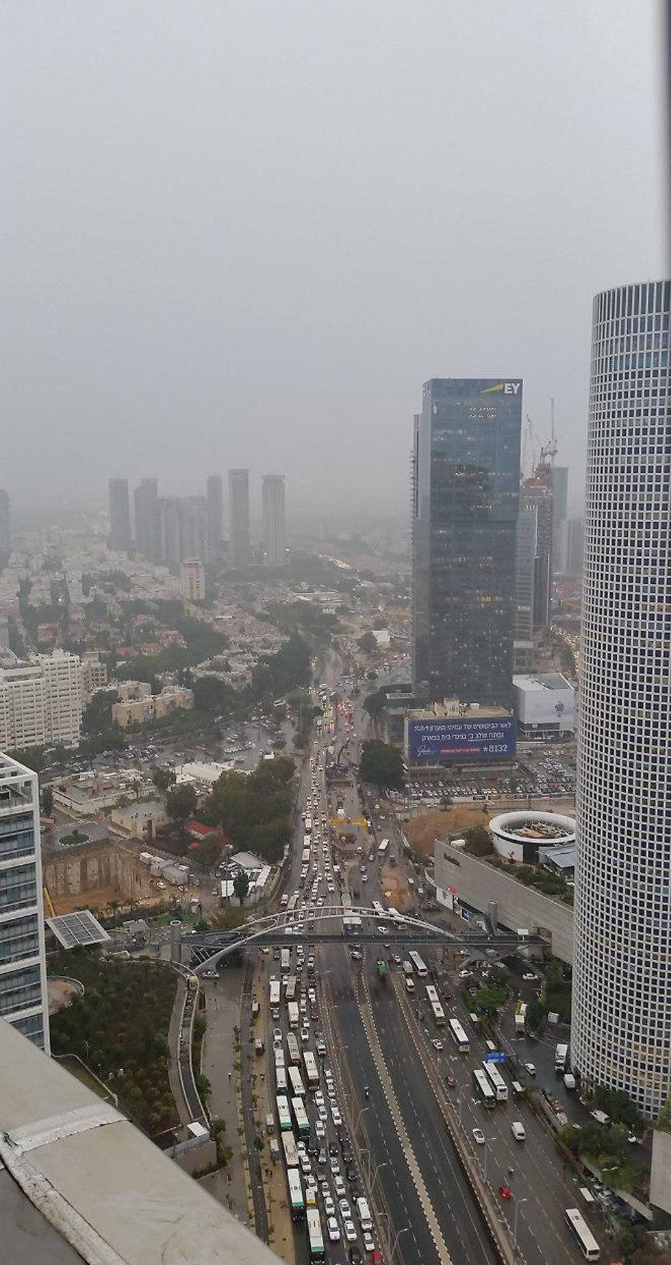 מזג אוויר תל אביב (צילום: יובל שם)