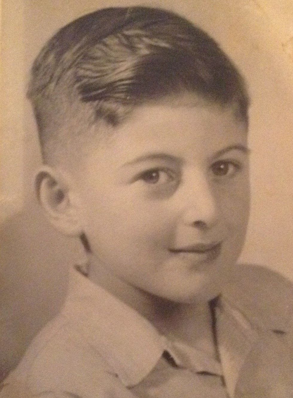 Salo Muller as a child