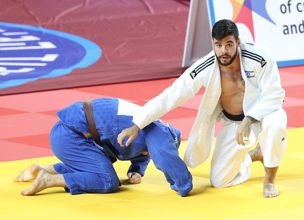 לי קוכמן באליפות ישראל (צילום: אורן אהרוני)