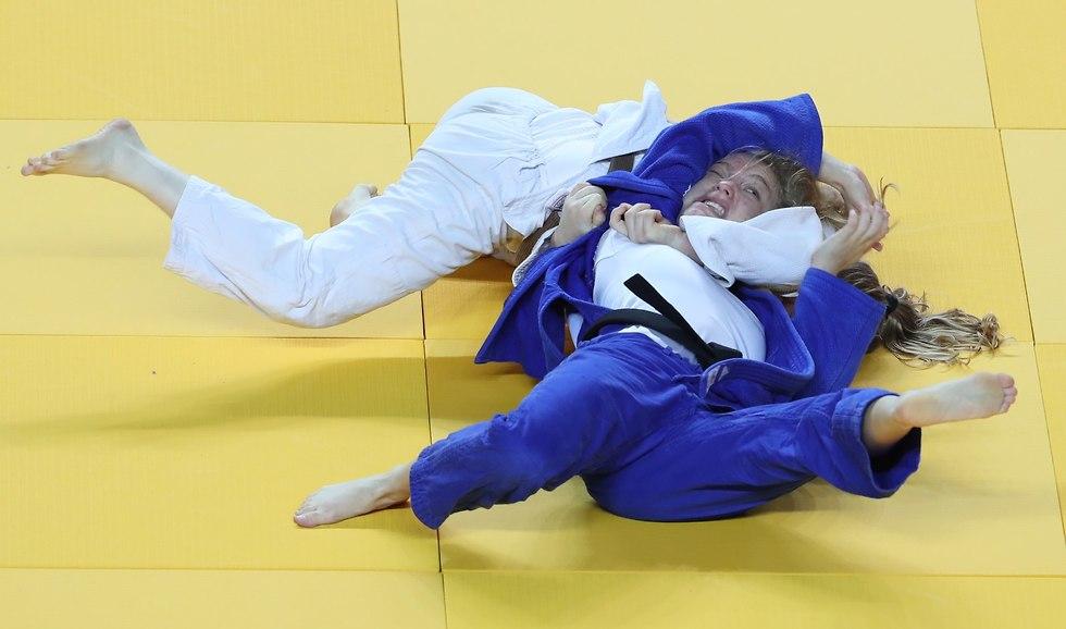 אליפות ישראל בג'ודו (צילום: אורן אהרוני)