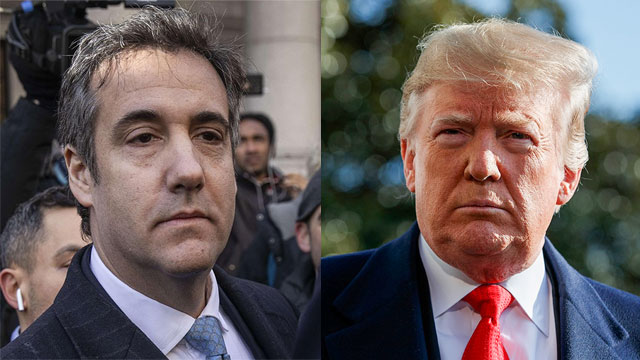 US President Donald Trump and former lawyer Michael Cohen  (Photo: AP, AFP)