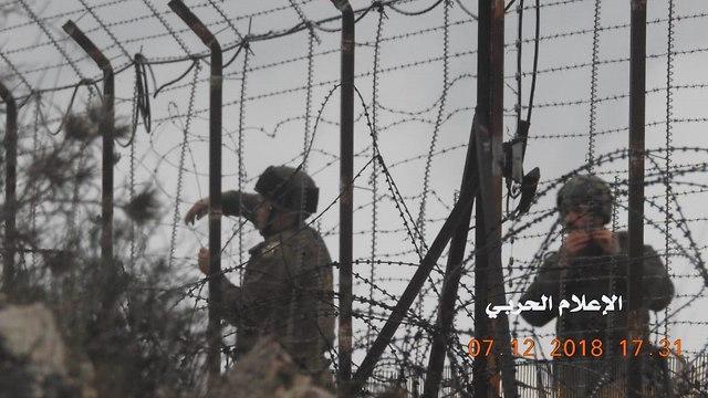 ЦАХАЛ у границы Ливана