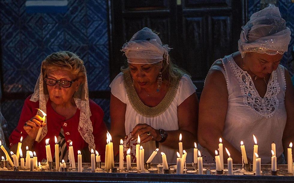 תוניסיה, בית הכנסת אלגריבה (צילום: AP)