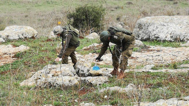 Hezbollah documents IDF forces in action