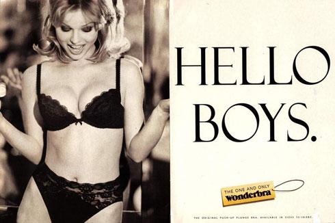 """""""הפרסומת של וונדרברה נועדה לפתות גברים"""". אווה הרציגובה, 1994"""