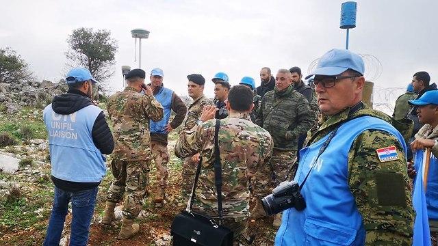 Миротворцы наблюдают за действиями ЦАХАЛа на границе Ливана