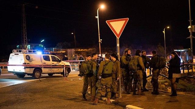 פיגוע ירי עפרה (צילום: יואב דודקביץ)