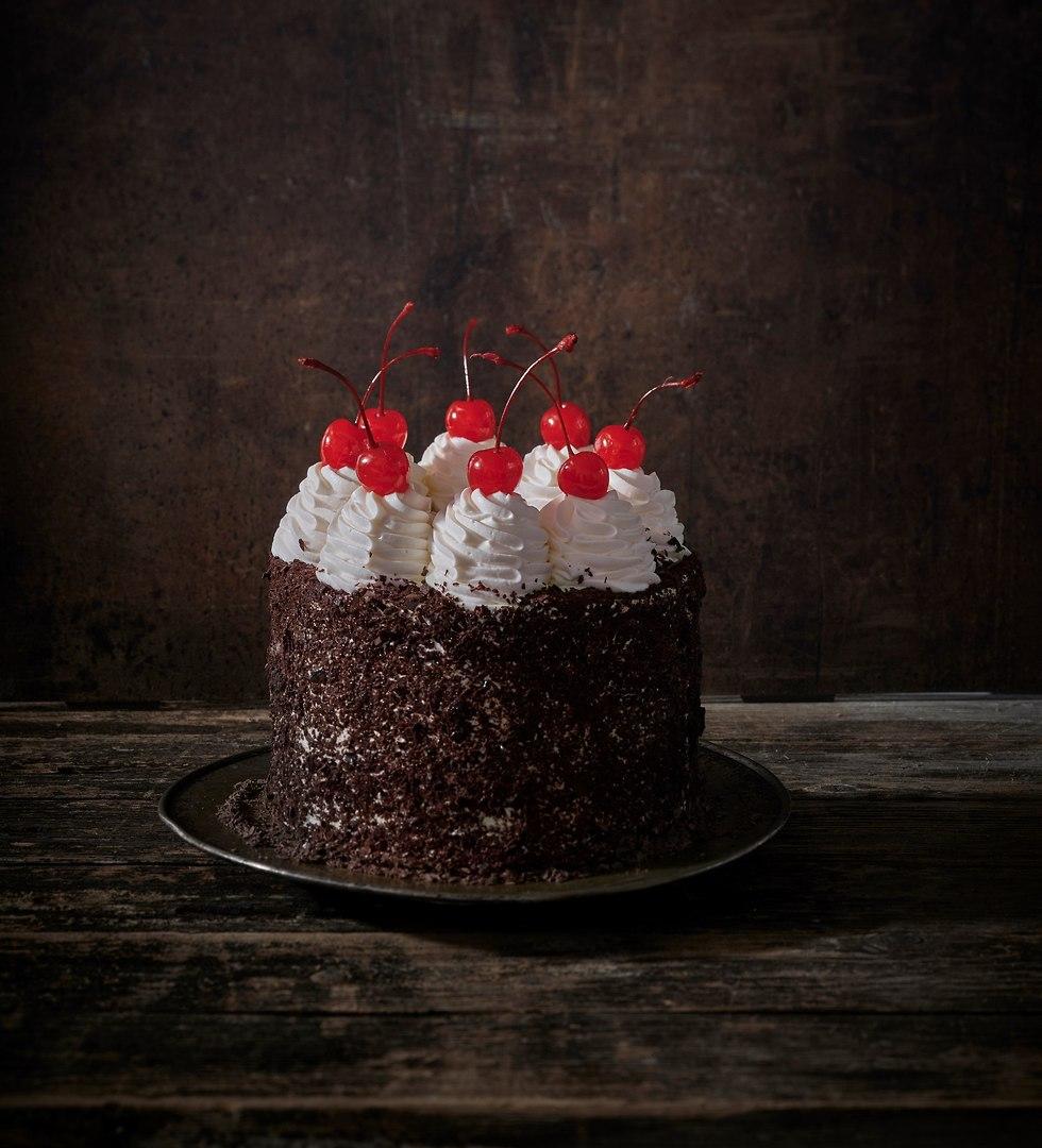 """Торт """"Черный лес"""" - классика кафе """"Капульски"""". Фото: Анатоли Михаэло"""