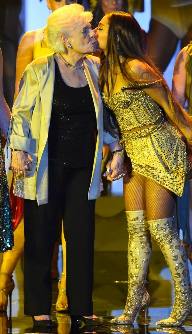 אוי, החמידות. אריאנה ומרג'ורי גרנדה (צילום: Gettyimages)
