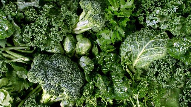 ירקות ירוקים (צילום: shutterstock)