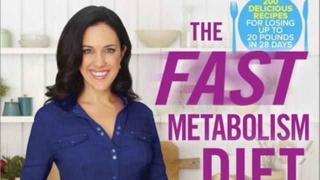 כריכת הספר דיאטת המטבוליזם המהיר היילי פומרוי ()