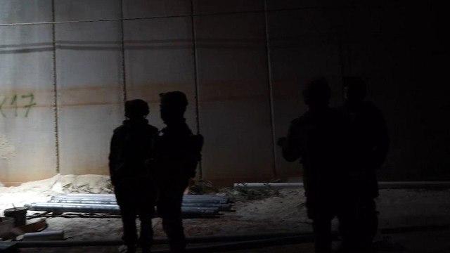 מבצע מגן צפוני (צילום: דובר צה