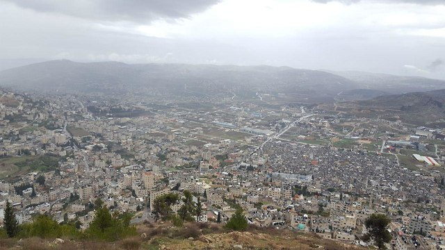 The West Bank city of Nablus (Photo: Itai Shickman)