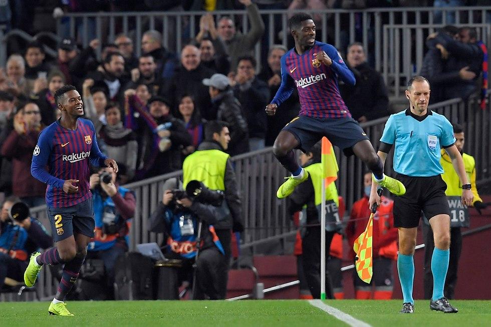 """""""Барселона"""" в ударе. Фото: AFP"""