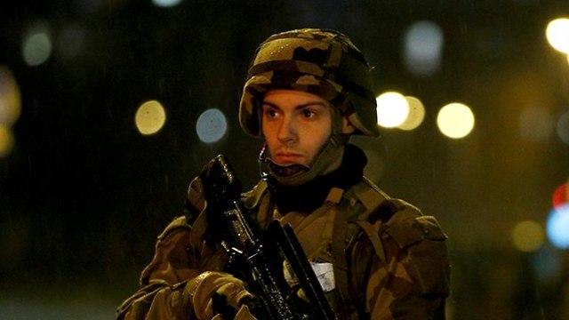 Policeman in Strasbourg (Photo: Reuters)