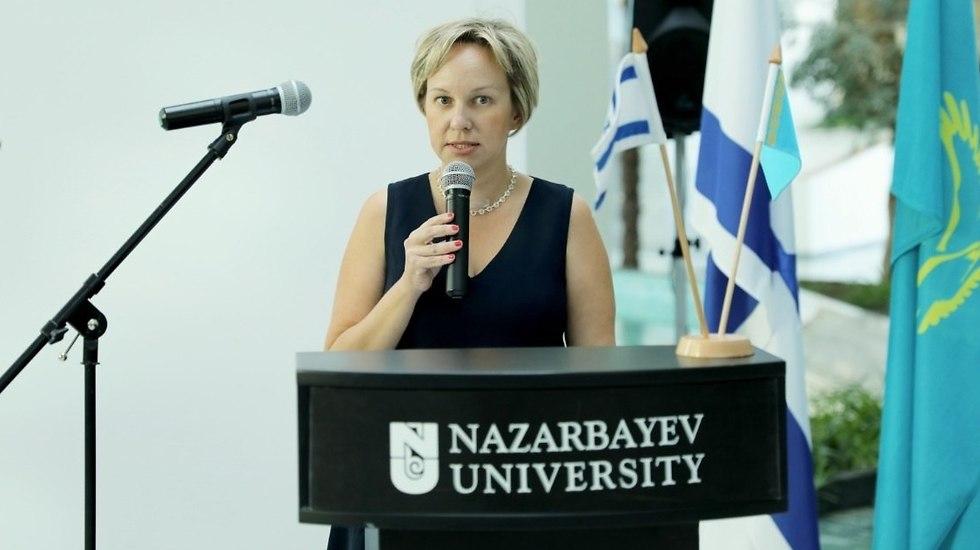 Israel's new ambassador to Kazakhstan Liat Wexelman  (Photo: Nazarbayev University)