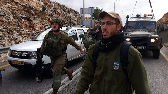 פיגוע בגבעת אסף (צילום: דוד מיכאל כהן/TPS)