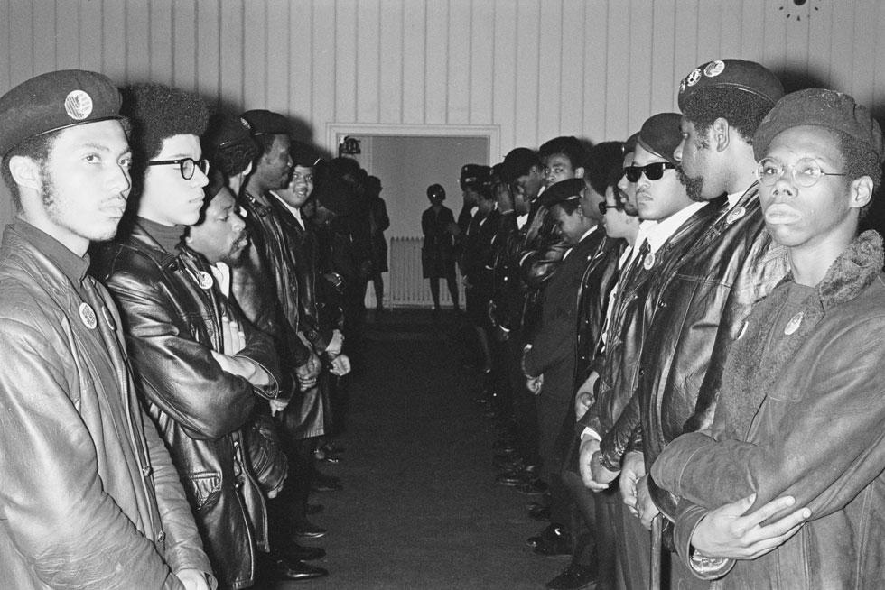 הפנתרים השחורים, 1969 (צילום: Jean-Pierre Laffont/Michael Ochs Archives/GettyimagesIL)