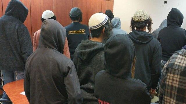 נערים עצורים בעקבות הפגנה בכביש 60 ()