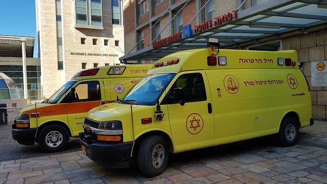 """Больница """"Хадасса"""" в Иерусалиме. Фото: Эли Мандельбаум"""