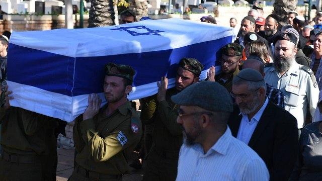Staff Sgt. Yovel Moryosef laid to rest (Photo: Kobi Richter/TPS)