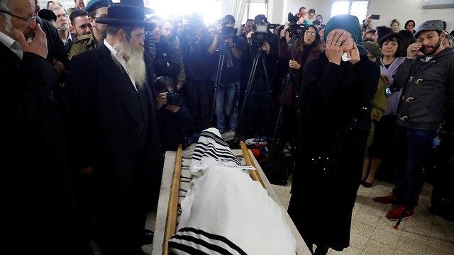 Funeral of Sgt. Yoseph Cohen (Photo: Reuters)