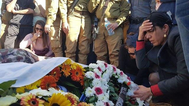 Funeral of Staff Sgt. Yovel Moryosef (Photo: Barel Efraim)