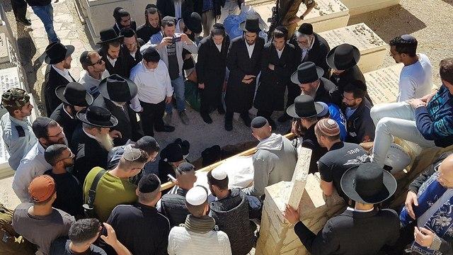 Sgt. Yoseph Cohen, 19, laid to rest (Phto: Yishai Porat)
