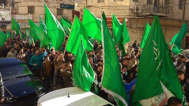 חגיגות 31 להיווסדו של ארגון חמאס ()