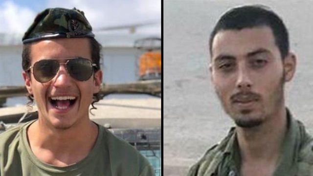 Sgt. Yosef Cohen (left) and Staff Sgt. Yovel Moryosef