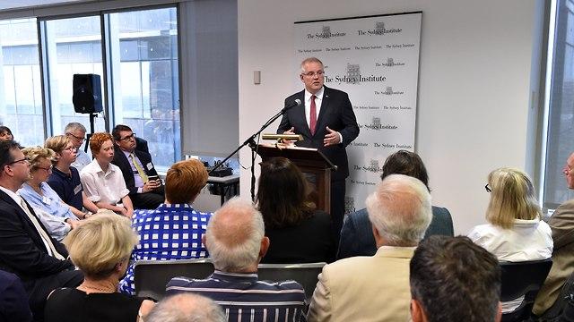 סקוט מוריסון, ראש ממשלת אוסטרליה, הכיר באופן רשמי במערב ירושלים כבירת ישראל (צילום: Getty Images)