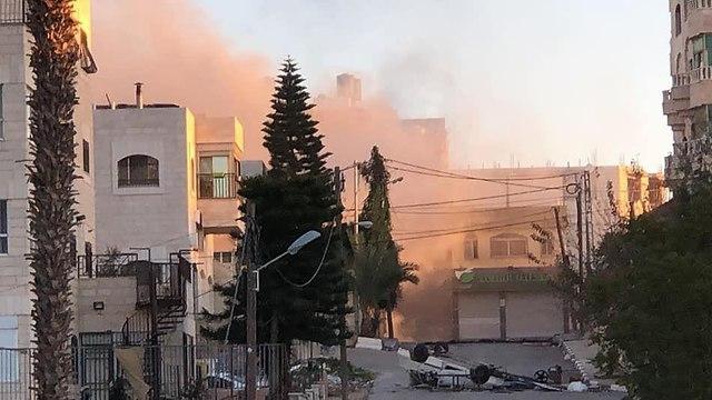 Уничтожение дома террориста