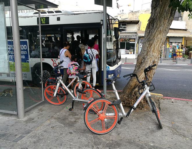 אז מה אם זו תחנת אוטובוס?   (צילום: ציפה קמפינסקי)