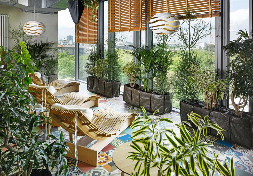 25hours hotels בברלין. כל סניף מעוצב אחרת, בהתאם למיקום ולמבנה (צילום: מתוך 25hours-hotels.com)