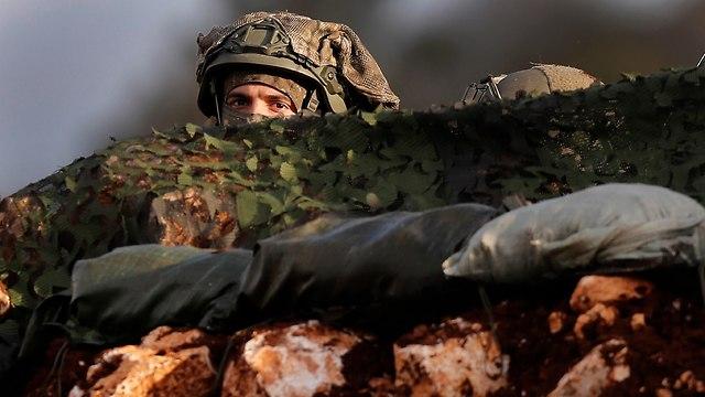 IDF soldiers on Israel-Lebanon border (Photo: AP)