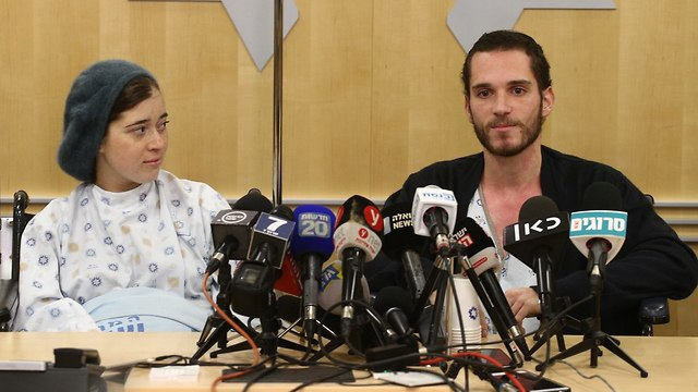 Shira and Amichai Ish-Ran (Photo: Ohad Zwigenberg)