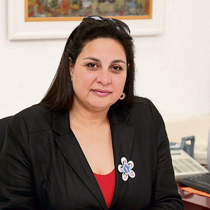Galia Volokh, Naamat's Chairwoman: 'the victims end up being the ones who need to hide'