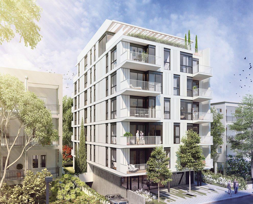 בנייה עתידית שלא מתעלמת מהעבר - הדמיית פרויקט התחדשות עירונית ברובע 4 (באדיבות אנשי העיר)