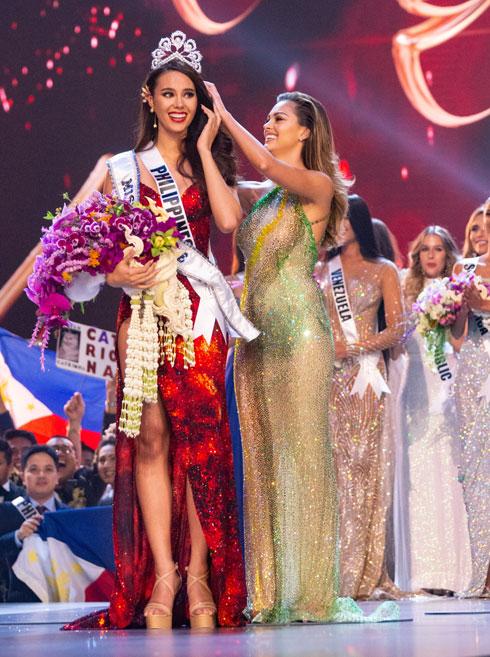 קתריונה גריי. מיס יוניברס ה-67 (צילום: Miss Universe / Amorn Pitayanant)