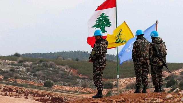 UNIFIL в Ливане. Фото: AFP