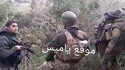 """תיעוד נדיר מהגבול: לוחמי צה""""ל בפגישה עם צבא לבנון"""