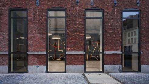 הכניסה למבשלת הבירה שהוסבה לבניין משרדים (צילום: באדיבות בארט ורהיין)