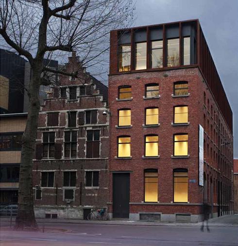 הבניין לאחר השלמתו (צילום: באדיבות בארט ורהיין)