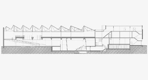 חתך המבנה (תכנית: באדיבות בארט ורהיין)