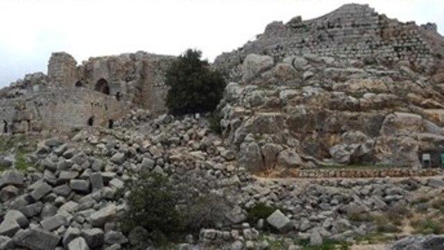 Наиболее древняя часть крепости