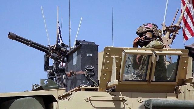 חיילים אמריקנים בסוריה (צילום: AP)