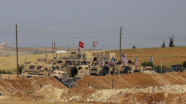 An American military base in Syria (Photo: AFP)